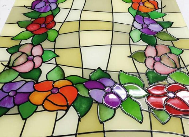 Cristal decorativo Cristalería Gustavo