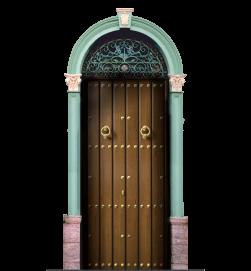 Portón de seguridad