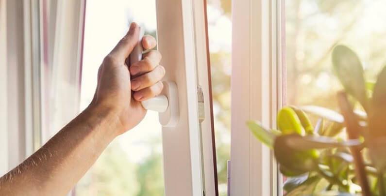 Ventanas de las ventanas oscilobatientes